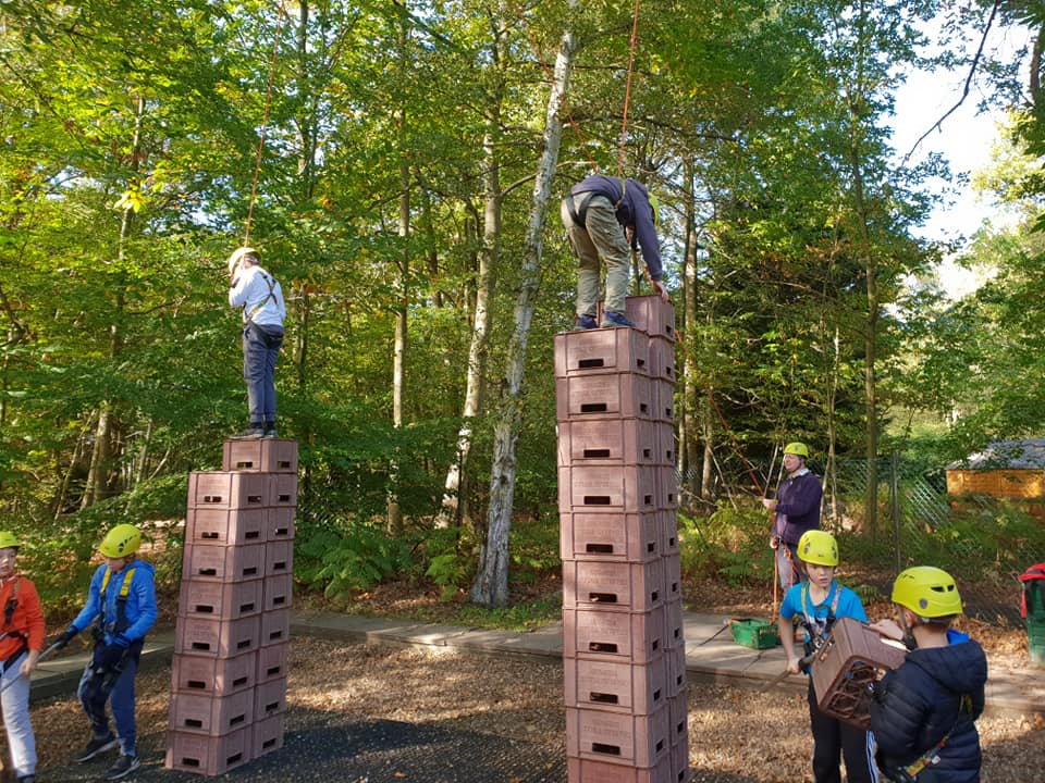 Cubs Crate Stacking